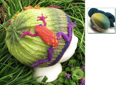 Frogs in the Grass Beanie/ Kits